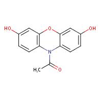 10-Acetyl-3,7-dihydroxyphenoxazine