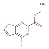 ethyl 4-chlorothieno[2,3-d]pyrimidine-2-carboxylate
