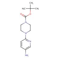 tert-Butyl 4-(5-aminopyridin-2-yl)piperazine-1-carboxylate
