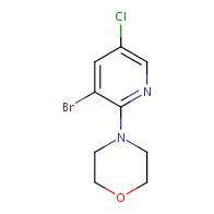 4-(3-Bromo-5-chloropyridin-2-yl)morpholine
