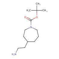 tert-butyl 4-(2-aminoethyl)azepane-1-carboxylate