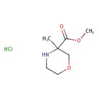 methyl 3-methylmorpholine-3-carboxylate hydrochloride