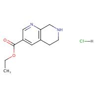 Ethyl 5,6,7,8-tetrahydro-1,7-naphthyridine-3-carboxylate hydrochloride