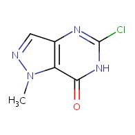 5-chloro-1-methyl-1H,6H,7H-pyrazolo[4,3-d]pyrimidin-7-one