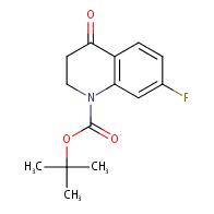 N-BOC-7-FLUORO-3,4-DIHYDROQUINOLINE-4(2H)-ONE