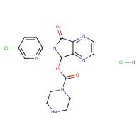 6-(5-Chloropyridin-2-yl)-7-oxo-6,7-dihydro-5H-pyrrolo[3,4-b]pyrazin-5-yl piperazine-1-carboxylate hydrochloride