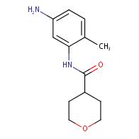 N-(5-Amino-2-methylphenyl)tetrahydro-2H-pyran-4-carboxamide