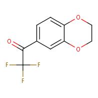 1-(2,3-dihydrobenzo[b][1,4]dioxin-6-yl)-2,2,2-trifluoroethan-1-one