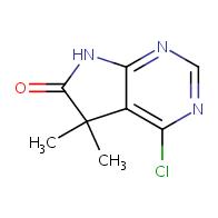 4-chloro-5,5-dimethyl-5H,6H,7H-pyrrolo[2,3-d]pyrimidin-6-one