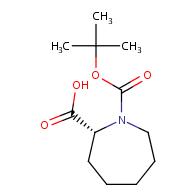 (2R)-1-[(tert-butoxy)carbonyl]azepane-2-carboxylic acid