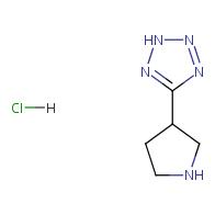 5-(pyrrolidin-3-yl)-2H-1,2,3,4-tetrazole hydrochloride