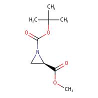 1-(tert-butyl) 2-methyl (R)-aziridine-1,2-dicarboxylate