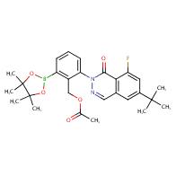 acetic acid 2-(6-tert-butyl-8-fluoro-1-oxo-1h-phthalazin-2-yl)-6-(4,4,5,5-tetramethyl-[1,3,2]dioxaborolan-2-yl)benzyl ester