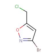 3-bromo-5-(chloromethyl)isoxazole