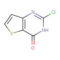 2-chloro-3H,4H-thieno[3,2-d]pyrimidin-4-one