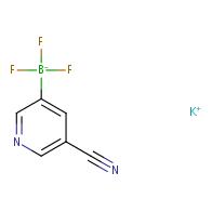 potassium (5-cyanopyridin-3-yl)trifluoroborate