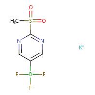 potassium trifluoro(2-(methylsulfonyl)pyrimidin-5-yl)borate