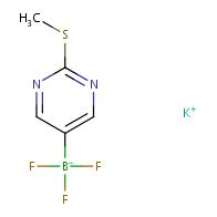 potassium trifluoro(2-(methylthio)pyrimidin-5-yl)borate