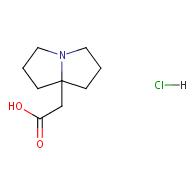 2-(hexahydro-1H-pyrrolizin-7a-yl)acetic acid hydrochloride