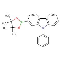 9-Phenyl-2-(4,4,5,5-tetramethyl-1,3,2-dioxaborolan-2-yl)-9H-carbazole