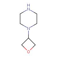 1-(oxetan-3-yl)piperazine
