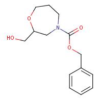 Benzyl 2-(hydroxymethyl)-1,4-oxazepane-4-carboxylate