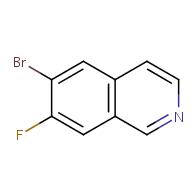 6-bromo-7-fluoroisoquinoline