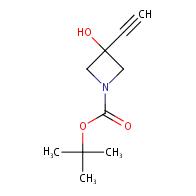 tert-butyl 3-ethynyl-3-hydroxyazetidine-1-carboxylate