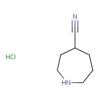 azepane-4-carbonitrile hydrochloride