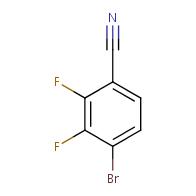 4-Bromo-2,3-difluorobenzonitrile