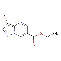 ethyl 3-bromopyrazolo[1,5-a]pyrimidine-6-carboxylate