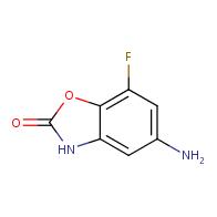 5-amino-7-fluorobenzo[d]oxazol-2(3H)-one