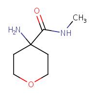 4-Aminotetrahydro-N-methyl-2H-pyran-4-carboxamide