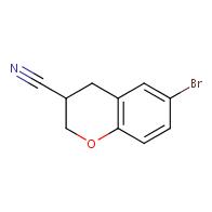 6-Bromochroman-3-carbonitrile