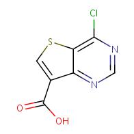 4-chlorothieno[3,2-d]pyrimidine-7-carboxylic acid