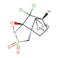 (4aS,7S,8aR)-8,8-Dichloro-9,9-dimethyltetrahydro-4H-4a,7-methanobenzo[c][1,2]oxazireno[2,3-b]isothiazole 3,3-dioxide