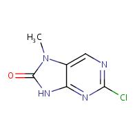 2-Chloro-7-methyl-7H-purin-8(9H)-one
