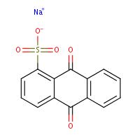 sodium 9,10-dioxo-9,10-dihydroanthracene-1-sulfonate