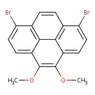 1,8-Dibromo-4,5-dimethoxypyrene