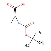 (R)-1-(tert-Butoxycarbonyl)aziridine-2-carboxylic acid