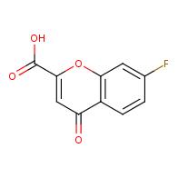 7-fluoro-4-oxo-4H-chromene-2-carboxylic acid