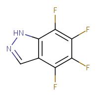 4,5,6,7-tetrafluoro-1H-indazole