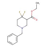 ethyl 1-benzyl-4,4-difluoropiperidine-3-carboxylate