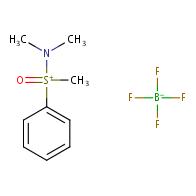 (Dimethylamino)methylphenylsulfoxonium tetrafluoroborate