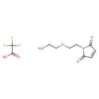 1-[2-(2-aminoethoxy)ethyl]-2,5-dihydro-1H-pyrrole-2,5-dione trifluoroacetate