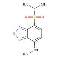 7-hydrazinyl-N,N-dimethylbenzo[c][1,2,5]oxadiazole-4-sulfonamide
