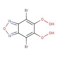4,7-dibromo-5,6-dihydroperoxybenzo[c][1,2,5]oxadiazole