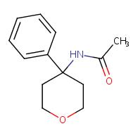 n-(tetrahydro-4-phenyl-2h-pyran-4-yl)acetamide
