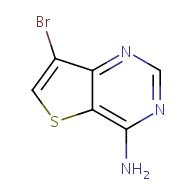7-bromothieno[3,2-d]pyrimidin-4-amine