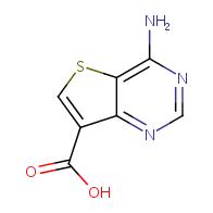 4-aminothieno[3,2-d]pyrimidine-7-carboxylic acid
